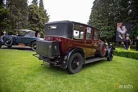 Back/Side of Rolls-Royce Twenty 3.1 Manual, 20ps, 1929 at Rolls-Royce och Bentley, Norrviken Båstad 2019