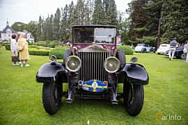 Front  of Rolls-Royce Twenty 3.1 Manual, 20ps, 1929 at Rolls-Royce och Bentley, Norrviken Båstad 2019