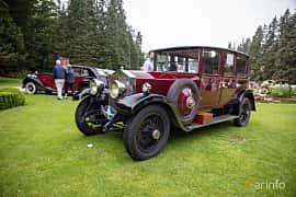 Front/Side  of Rolls-Royce Twenty 3.1 Manual, 20ps, 1929 at Rolls-Royce och Bentley, Norrviken Båstad 2019