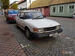 Front/Side  of Saab 90 2.0 Manual, 100ps, 1985