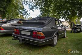 Back/Side of Saab 900 3-door 2.0 Manual, 145ps, 1990 at Billesholms Veteranbilsträff 2019 augusti