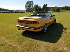 Back/Side of Saab 900 Convertible 2.0 Turbo Automatic, 185ps, 1997 at Eddys bilträff Billesholm 2019 Tema Opel och Chevrolet