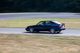 Bak/Sida av Saab 9000 CS 2.0 Turbo Manual, 185ps, 1995 på JapTuning Trackday 2018 Knutstorp