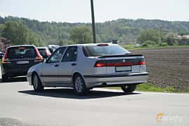Bak/Sida av Saab 9000 CS 2.0 Turbo Manual, 150ps, 1997 på Tjolöholm Classic Motor 2017