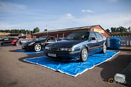 Fram/Sida av Saab 9000 CS 2.0 Turbo Manual, 185ps, 1995 på JapTuning Trackday 2018 Knutstorp
