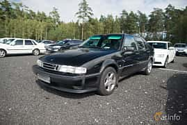 Fram/Sida av Saab 9000 CS 2.3 Turbo Manual, 170ps, 1995 på Tyskträffen 2017