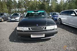 Front of Saab 9000 CS 2.3 Turbo Manual, 170ps, 1995 at Tyskträffen 2017