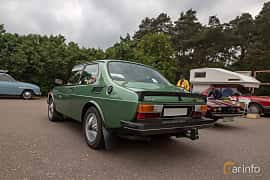 Bak/Sida av Saab 99 2-door Sedan 2.0 Turbo Manual, 145ps, 1980 på Saxtorp Saabklubbens Skånia marknad 2019