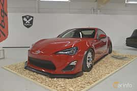 Front/Side  of Scion FR-S 2.0 203ps, 2013 at Bilsport Performance & Custom Motor Show 2019