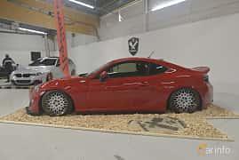 Side  of Scion FR-S 2.0 203ps, 2013 at Bilsport Performance & Custom Motor Show 2019