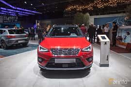 Fram av SEAT Arona 2018 på Geneva Motor Show 2018