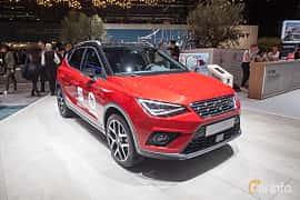 Fram/Sida av SEAT Arona 2018 på Geneva Motor Show 2018