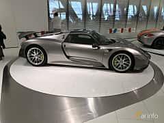 Sida av Porsche 918 Spyder 4.6 V8 + 6.8 kWh PDK, 887ps, 2014