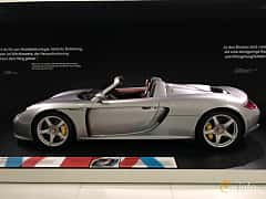 Sida av Porsche Carrera GT 5.7 V10 Manual, 612ps, 2003