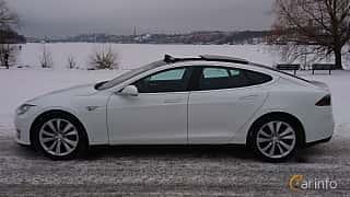 Sida av Tesla Model S 85D 85 kWh AWD Single Speed, 423ps, 2016