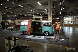 Side  of Volkswagen Transporter 1600 Minibus 1.6 Manual, 48ps, 1967 at Bilsport Performance & Custom Motor Show 2019