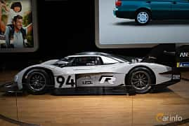 Side  of Volkswagen I.D. R ? kWh AWD Single Speed, 693ps, 2018 at LA Motor Show 2018