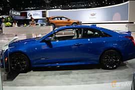 Side  of Cadillac ATS-V Coupé 3.6 V6 470ps, 2019 at LA Motor Show 2018