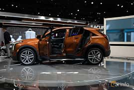 Side  of Cadillac XT4 2.0 Turbo AWD Automatic, 241ps, 2019 at LA Motor Show 2018
