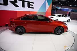 Sida av Kia Forte 2.0 i-CVT, 149ps, 2019 på North American International Auto Show 2018