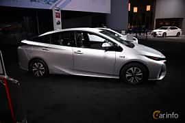 Sida av Toyota Prius Plug-in Hybrid 1.8 VVT-i Plug-in CVT, 123ps, 2017 på North American International Auto Show 2018