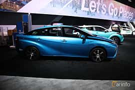 Side of Toyota Mirai FuelCell Single Speed, 154ps, 2017 at North American International Auto Show 2018