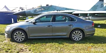 Side  of Volkswagen Passat NMS 2012 at Old Car Land no.1 2019