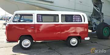 Side  of Volkswagen Transporter 1600 Minibus 1.6 Manual, 48ps, 1970 at Old Car Land no.1 2019