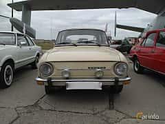 Front  of Skoda 100 1.0 Manual, 45ps, 1975 at Old Car Land no.2 2017