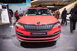 Fram av Skoda Karoq 2.0 TDI 4x4 Manual, 150ps, 2019 på Paris Motor Show 2018