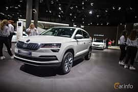 Front/Side  of Skoda Karoq 1.5 TSI DSG Sequential, 150ps, 2018 at IAA 2017