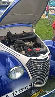 Motorutrymme av Skoda Popular 1100 OHV Convertible 1.1 Manual, 30ps, 1939 på Old Car Land no.1 2017