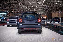 Back of Smart fortwo electric drive 17.6 kWh Single Speed, 82ps, 2019 at Geneva Motor Show 2019