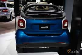 Bak av Smart fortwo electric drive cabrio 17.6 kWh Single Speed, 82ps, 2019 på LA Motor Show 2018
