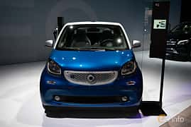 Fram av Smart fortwo electric drive cabrio 17.6 kWh Single Speed, 82ps, 2019 på LA Motor Show 2018