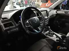 Interior of SsangYong Musso 2.2 e-XDi 4WD Automatic, 181ps, 2018 at Warsawa Motorshow 2018