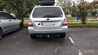 Back of Subaru Forester 2006 at Old Car Land no.2 2018