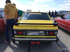 Back of Subaru Leone 4-door Sedan 1977