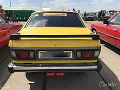Back of Subaru Leone 4-door Sedan 1977 at Old Car Land no.1 2018