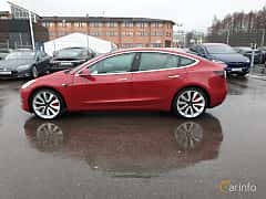 Sida av Tesla Model 3 Performance 75 kWh AWD Single Speed, 462ps, 2019