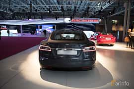 Bak av Tesla Model S 100D 100 kWh AWD Single Speed, 423ps, 2018 på Paris Motor Show 2018