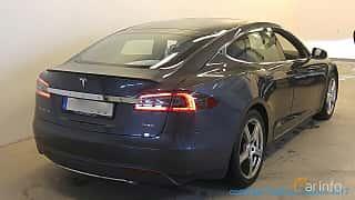 Bak/Sida av Tesla Model S P85 85 kWh Single Speed, 421ps, 2014