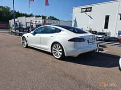 Back/Side of Tesla Model S 75D 75 kWh AWD Single Speed, 333ps, 2018