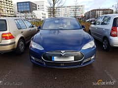Front of Tesla Model S 85D 85 kWh AWD Single Speed, 423ps, 2016
