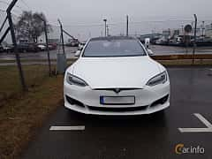 Front  of Tesla Model S 60 60 kWh Single Speed, 306ps, 2016