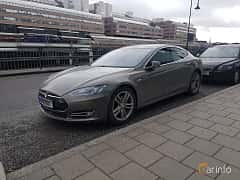 Front/Side of Tesla Model S P90D 90 kWh AWD Single Speed, 511ps, 2016