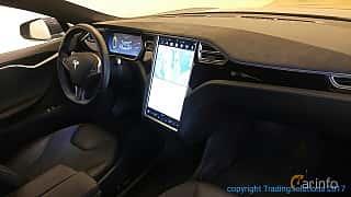 Interiör av Tesla Model S P85 85 kWh Single Speed, 421ps, 2014