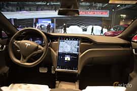 Interiör av Tesla Model S 100D 100 kWh AWD Single Speed, 423ps, 2018 på Paris Motor Show 2018
