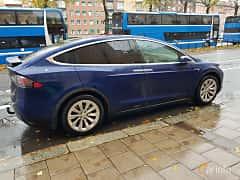 Back/Side of Tesla Model X 90D 90 kWh AWD Single Speed, 423ps, 2017