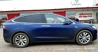 Sida av Tesla Model X 90D 90 kWh AWD Single Speed, 423ps, 2016